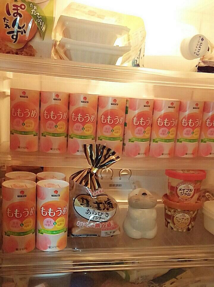 我が家の冷蔵庫、、、。