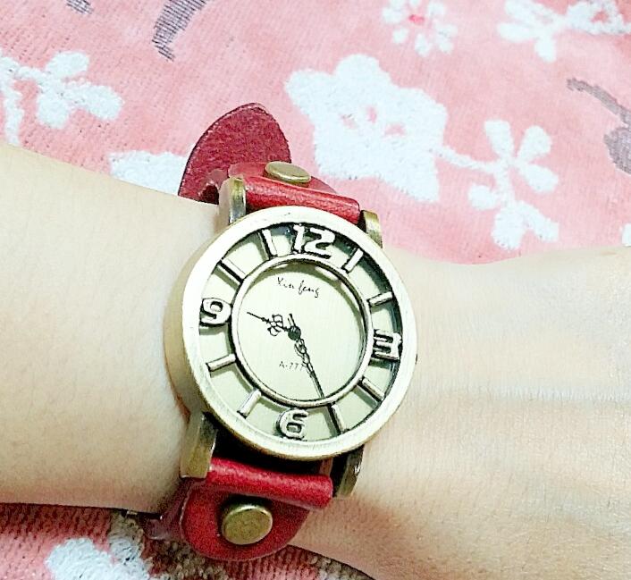 久しぶりに腕時計♪