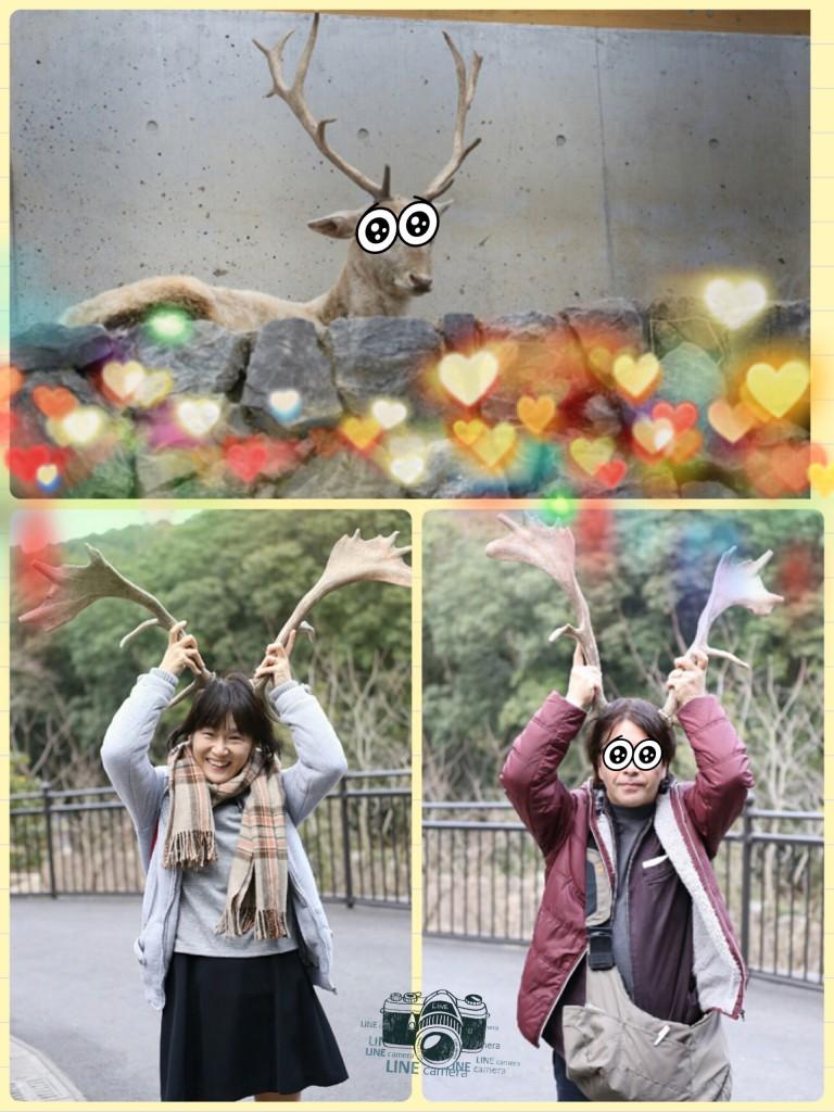 ふたりで動物園にいってきたー!!