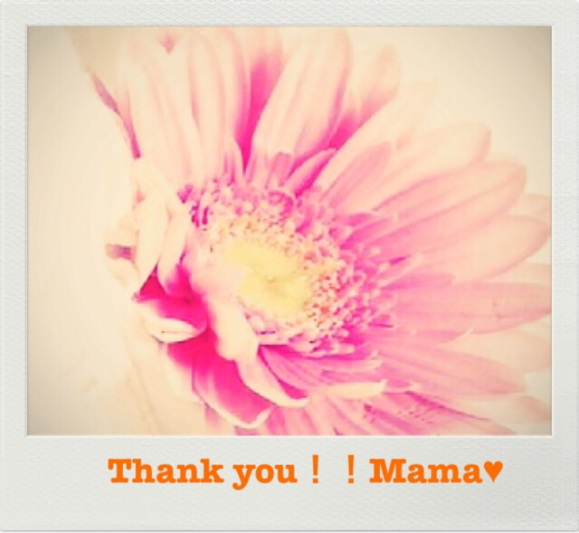 私からの「母の日」